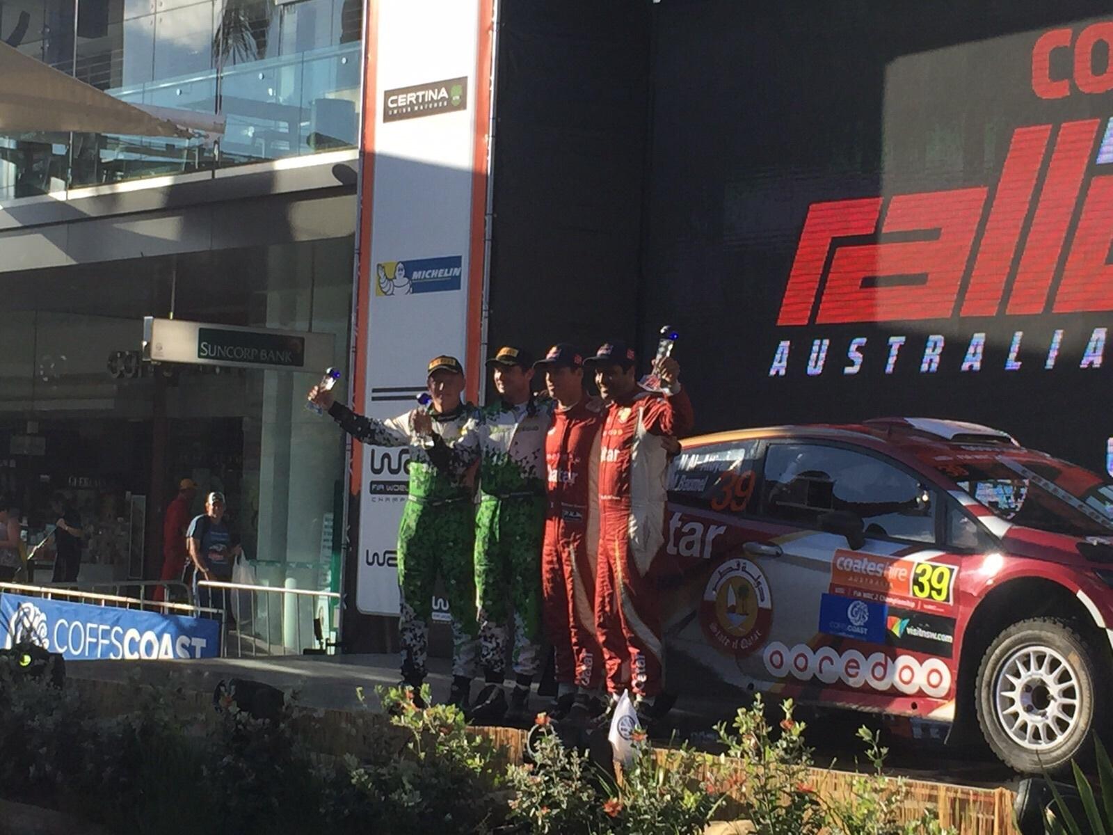 Юрій Протасов та Павло Черепін на автомобілі Ford Fiesta R5 завойовують четвертий подіум поспіль - офіційний представник Winner в Україні