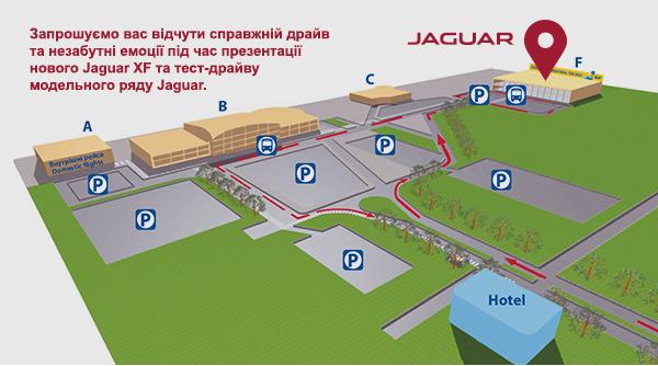 Презентація нового Jaguar XF - офіційний представник Winner в Україні