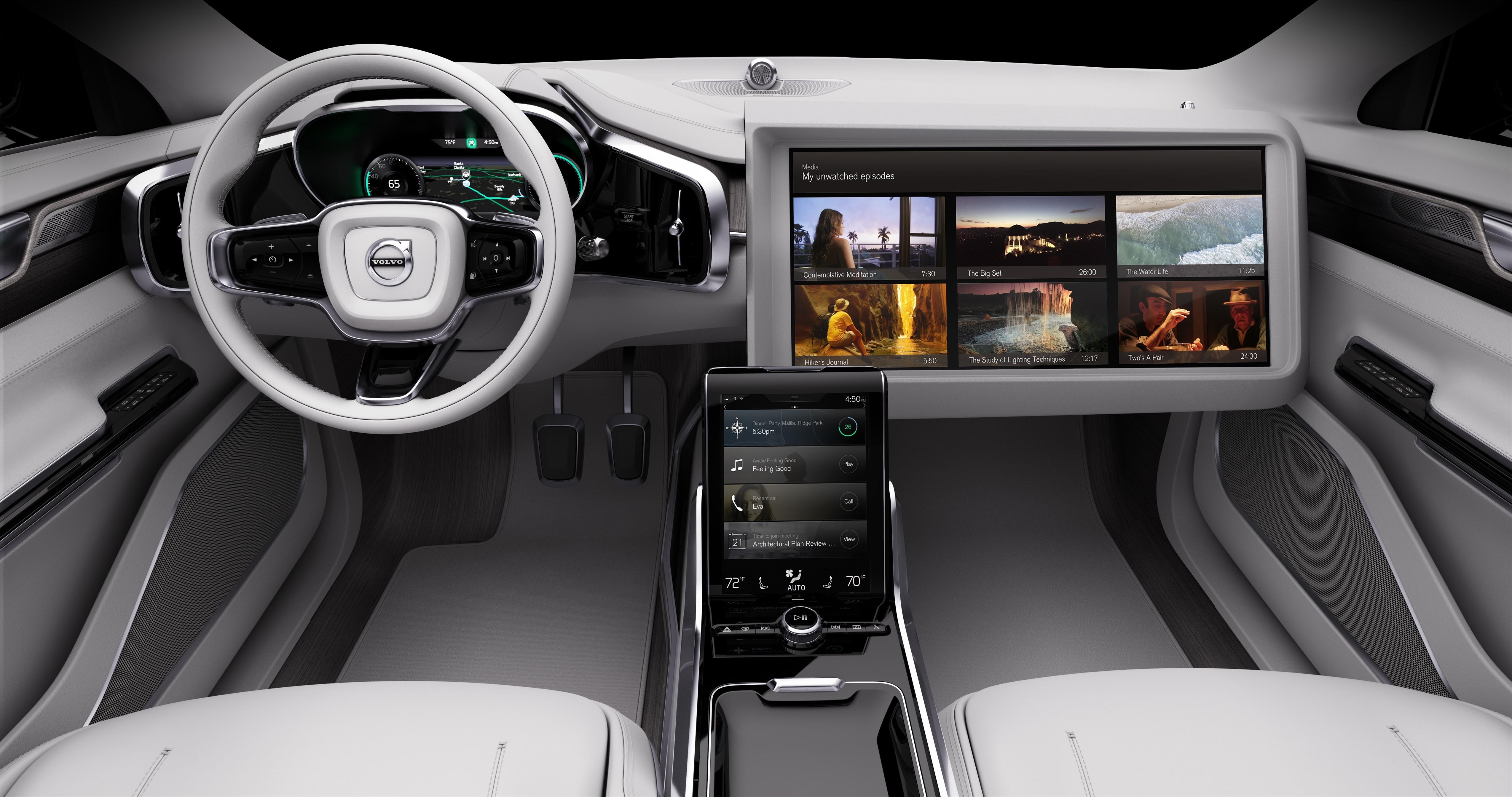 Компанія Volvo зробила крок до створення ідеального безпілотного автомобіля - офіційний представник Winner в Україні