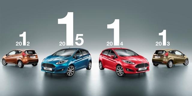 Ford Fiesta - знову на європейській вершині у класі малогабаритних авто - офіційний представник Winner в Україні