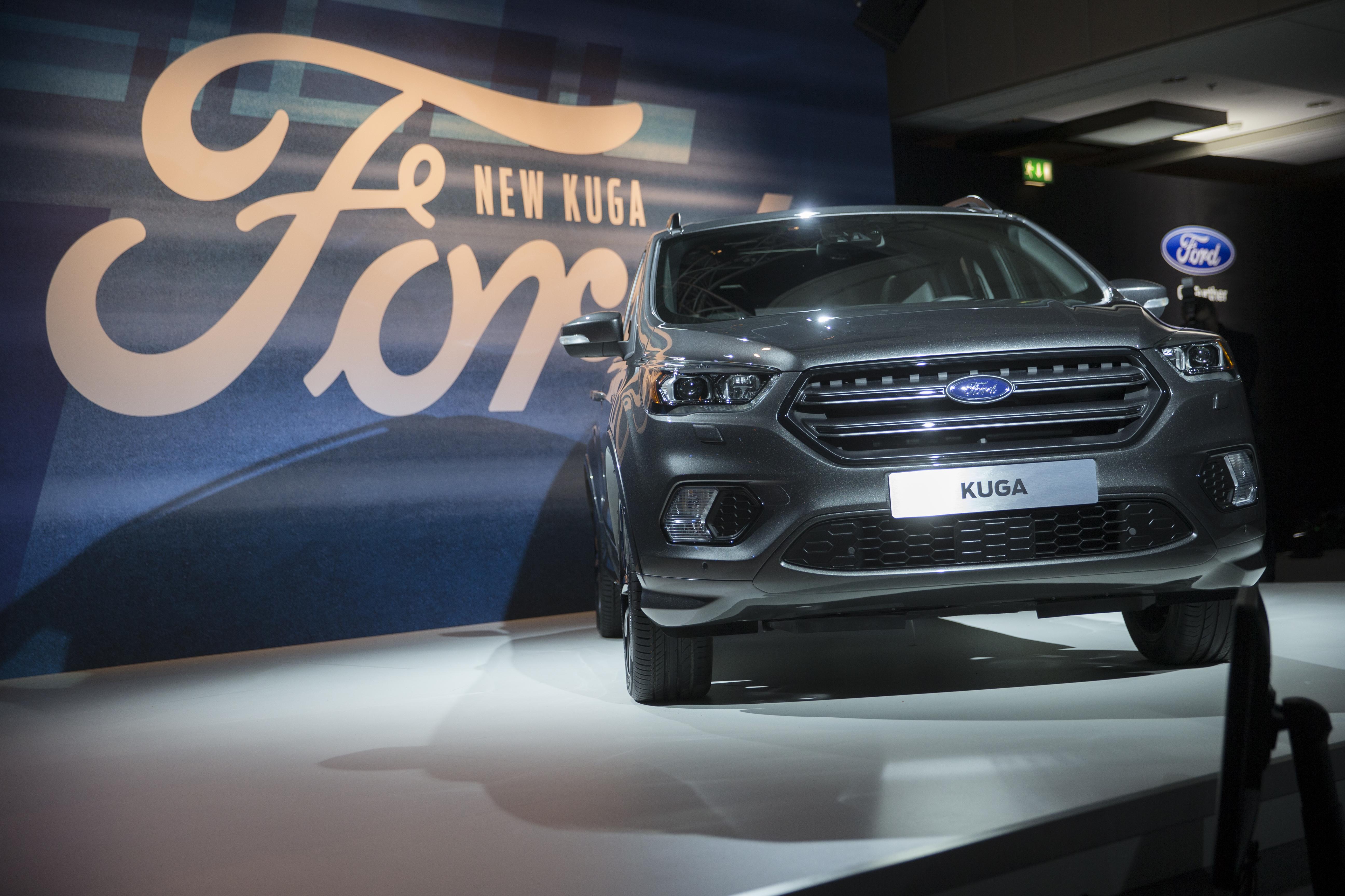 Відвідувачі Женевського автосалону побачили Ford Fiesta ST200 і Kuga - офіційний представник Winner в Україні