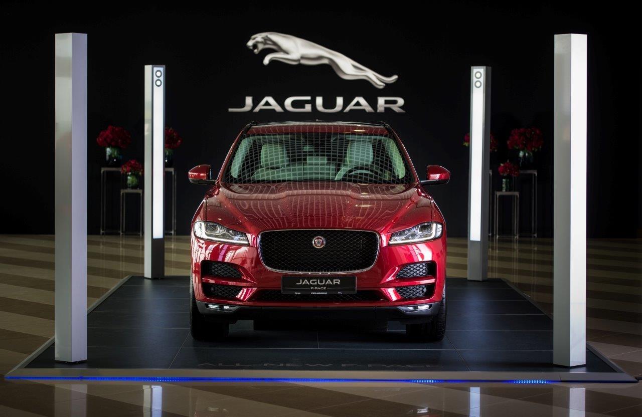 У Києві презентували новий Jaguar F-PACE - офіційний представник Winner в Україні