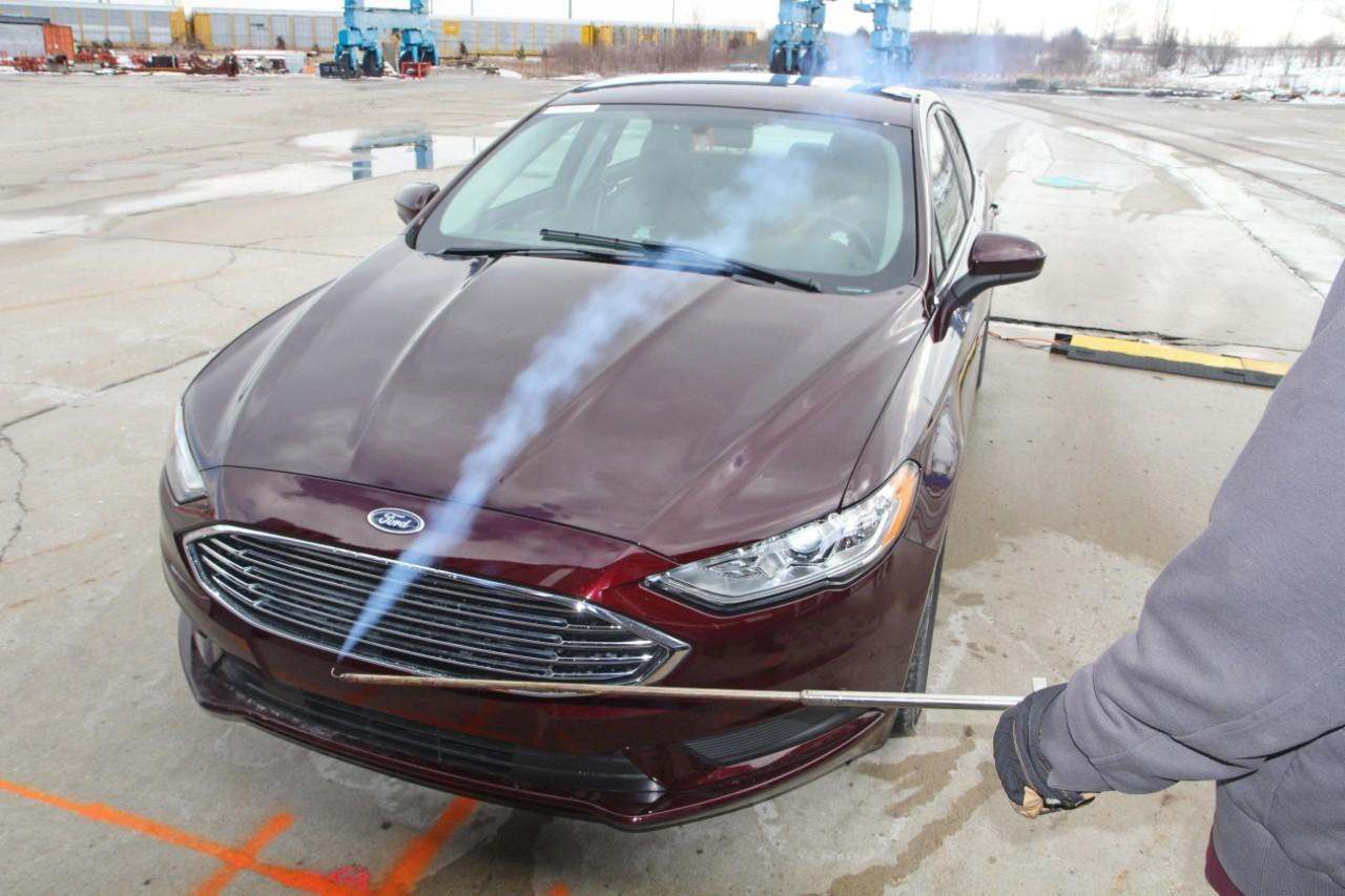 Ford випробував мобільну аеродинамічну трубу - офіційний представник Winner в Україні