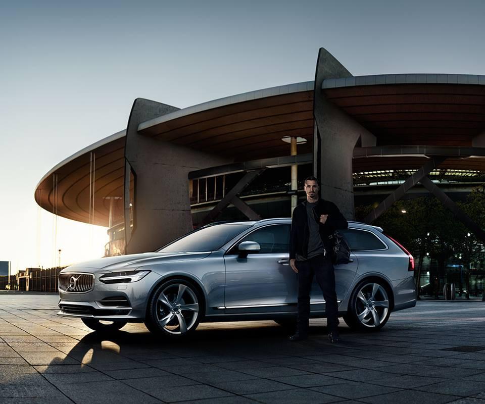 Футболіст Златан Ібрагімович - обличчя Volvo V90 - офіційний представник Winner в Україні