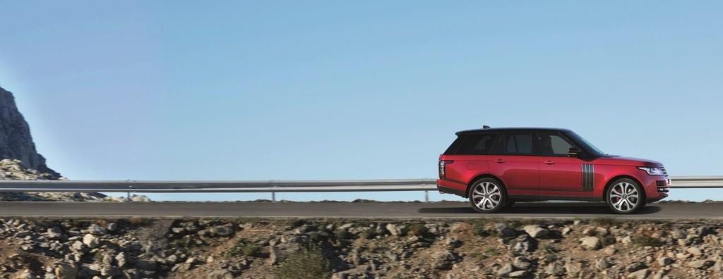 Range Rover 2017 - еталон дизайну, інтер'єру, комфорту та безпеки - офіційний представник Winner в Україні
