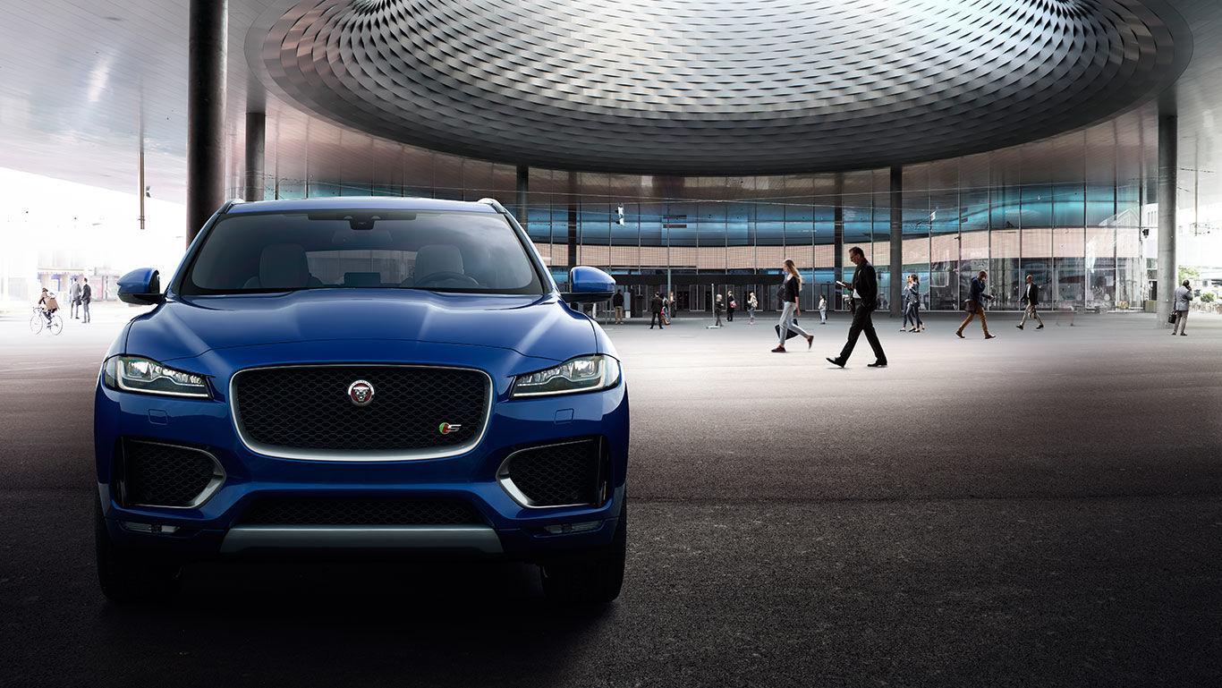 Jaguar F-PACE. Потужність та ефективність - офіційний представник Winner в Україні