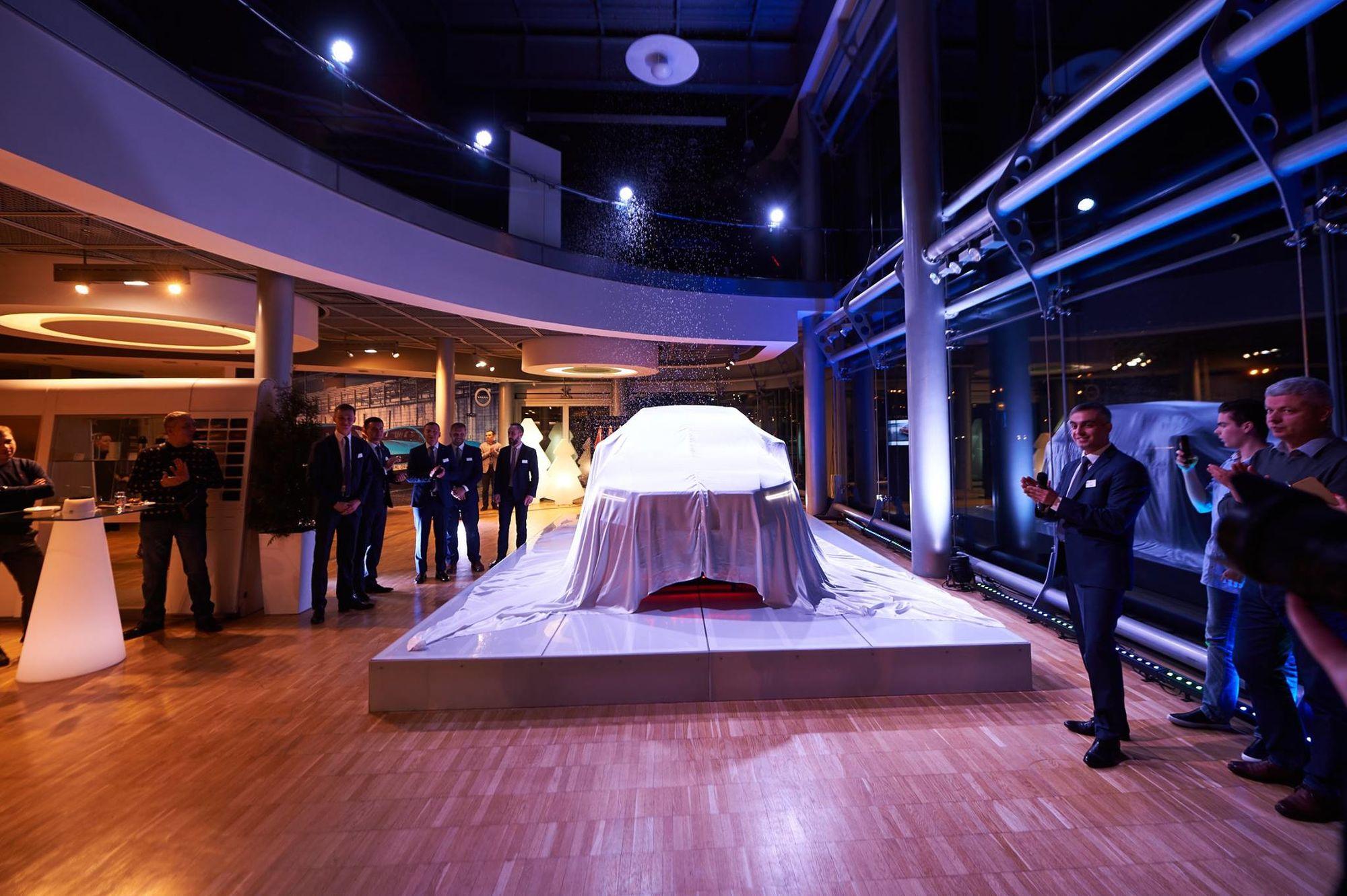 Допрем'єрна презентація нового кросовера Volvo XC40 - офіційний представник Winner в Україні