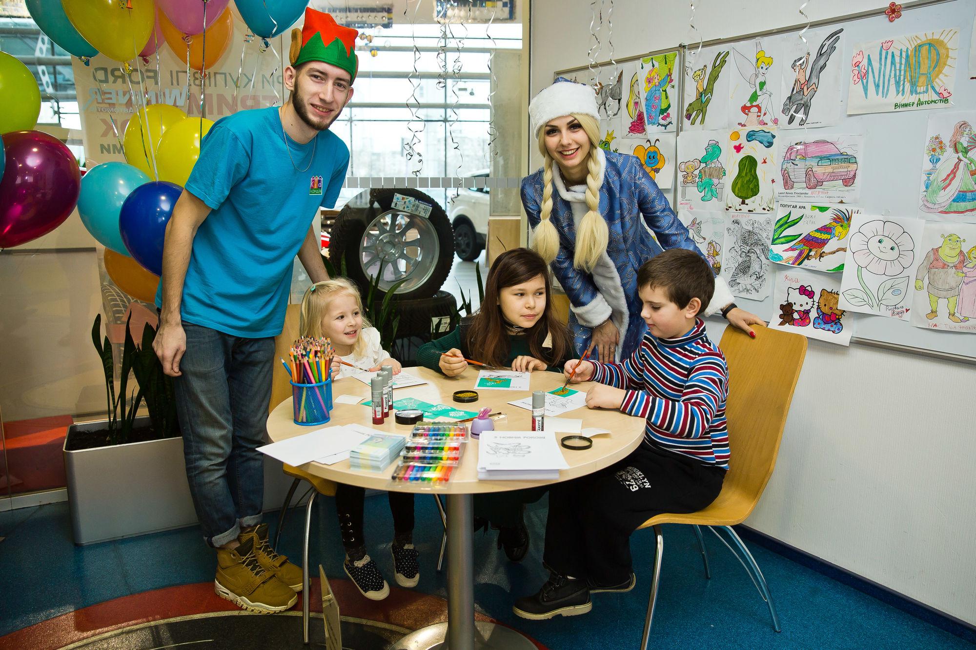 Новорічний дитячий майстер-клас - офіційний представник Winner в Україні