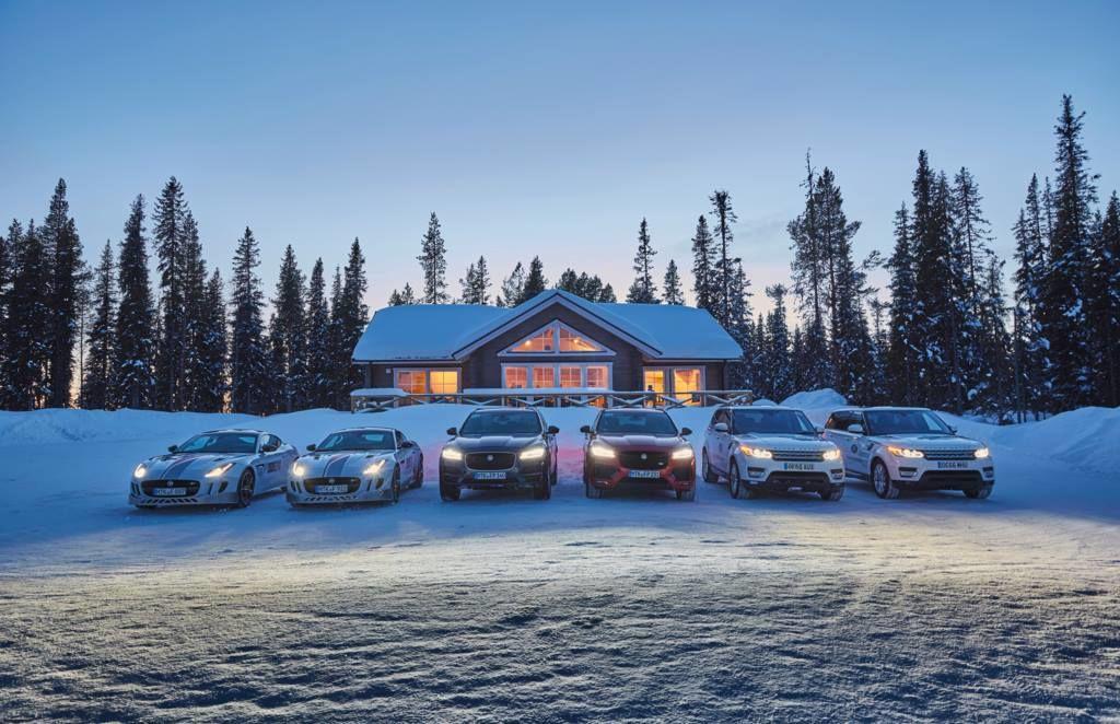 Jaguar Land Rover Winter Drive Bukovel 2018 - офіційний представник Winner в Україні