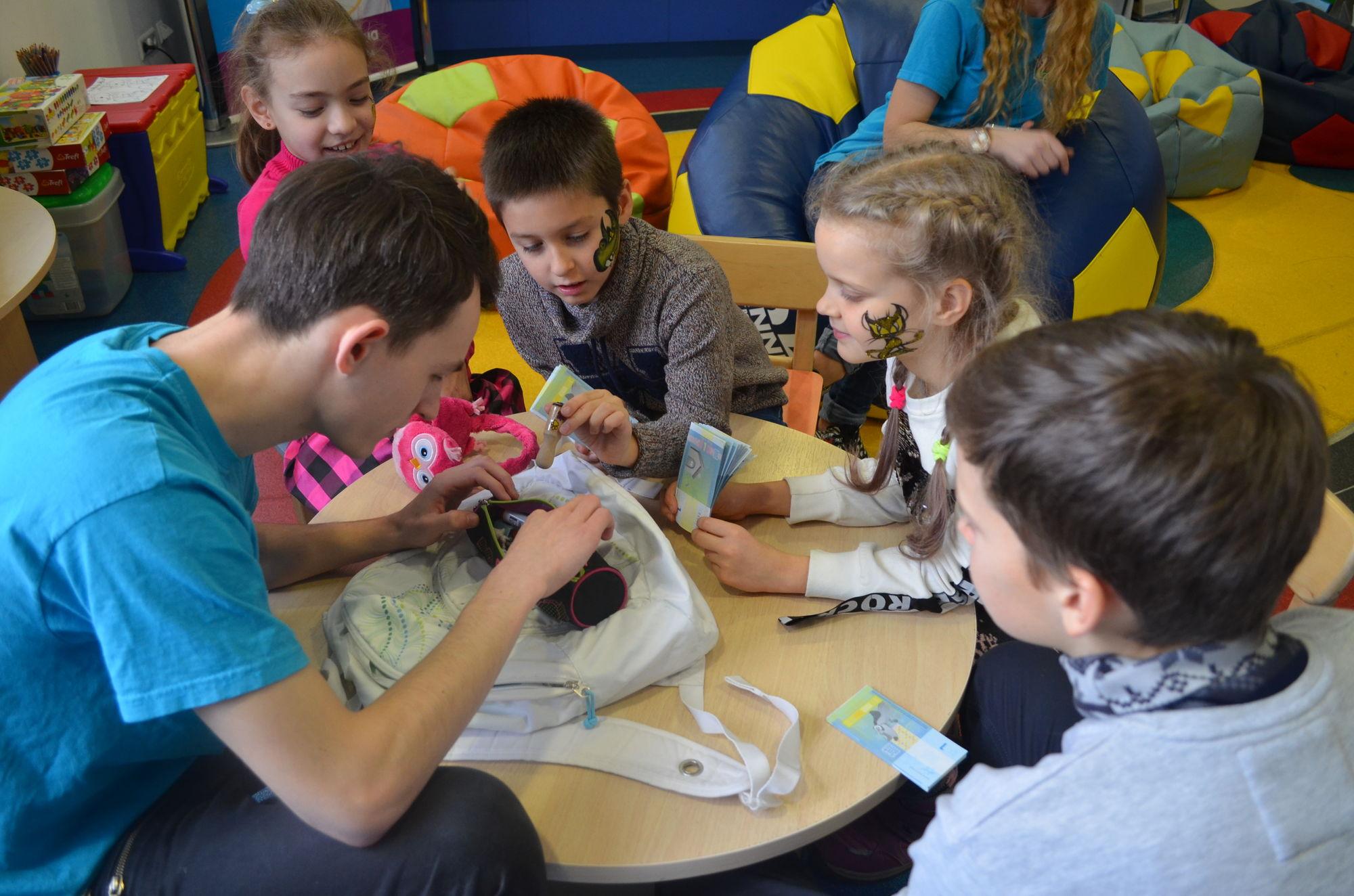 Як проходив дитячий майстер-клас  «Школа детективів» - офіційний представник Winner в Україні