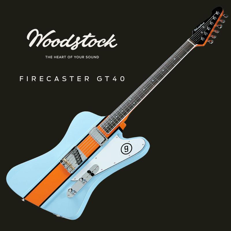Українська компанія Woodstock Firecaster GT40 – створила на честь Ford нову модель гітари. - офіційний представник Winner в Україні